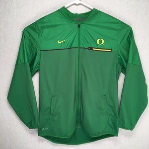 Nike University of Oregon Dri-Fit mens zip jacket